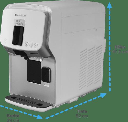 Masse Auftisch Umkehrosmoseanlage mit Kohlensäure und EiswürfelbWasserfilter